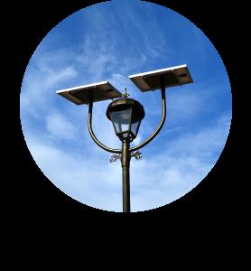 Alumbrado público fotovoltaico SCL