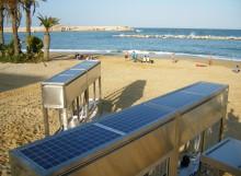 Instalación Solar Aislada Playa