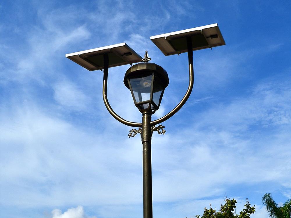 Instalaci 243 N De Alumbrado Solar Saclima Fotovoltaica