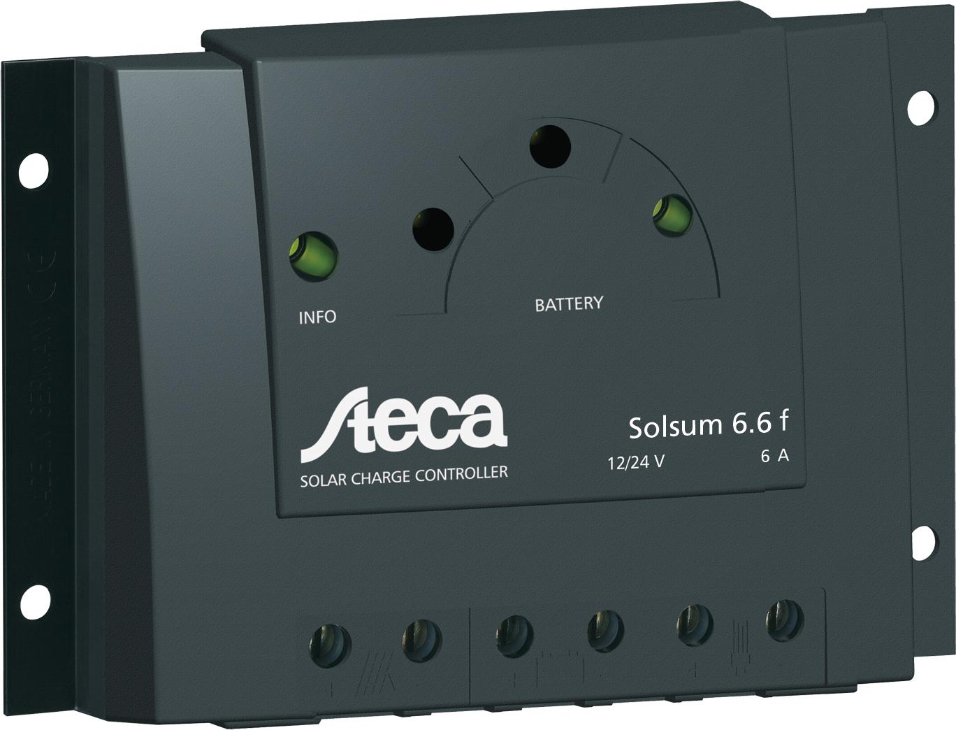 Reguladores de carga solar Steca Solsum F
