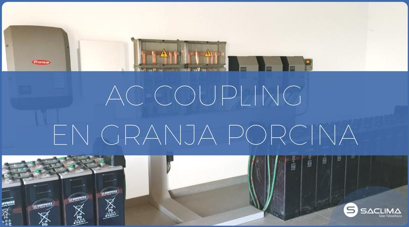 Nueva instalación AC Coupling en Barcelona